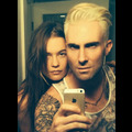 Adam Levine Dyes His Hair Blonde
