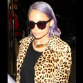 Nicole Richie Says She Dyed Her Hair Purple For Daughter Harlow