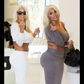 Karissa And Kristina Shannon Flaunt Their Massive Butts While Shopping At Chanel