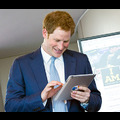 Prince Harry Tweets For The First Time!