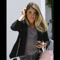 Newly Single Nikki Reed Goes Blonde At The Salon