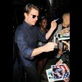 Ageless Tom Cruise Signs Autographs For His Fans