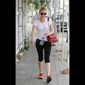 Diane Kruger Tries To Tighten Her Cheeks With A Workout