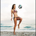 Alessandra Ambrosio Celebrates The World Cup By Doing What She Does Best: Wearing A Bikini