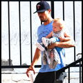 Josh Duhamel Carries Around His Most Precious Cargo, Baby Ace, For An Afternoon Excursion