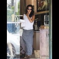 Rachel Bilson Satisfies Her Pregnancy Cravings At Local Bakery