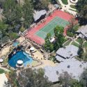 """<em><span class=""""exclusive"""">EXCLUSIVE PHOTOS</span></em> - Drake Has His Clean-Up Crew Working Overtime At Calabasas Mansion After Wild Memorial Day Party"""