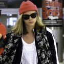 Supermodel Cara Delevingne Dresses Down For A Trip To NYC