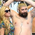 Paris Hilton Escorts The Fat Jew To Get A New Tattoo