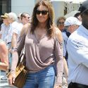 Caitlyn Jenner Celebrates Father's Day With Kylie And Kendall At A Car Show