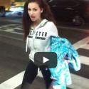 "Danielle ""Cash Me Outside"" Bregoli Taunts Photographers At LAX"