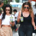 Kourtney And Larsa Look Like Sexy Cougars On The Prowl ...