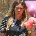 Hilary Duff Is A Pregnant Party Girl!