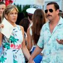 Jennifer Aniston And Adam Sandler Hold Hands While Filming Their Netflix Comedy In Italy