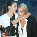 Kendall Jenner Gets Cozy With BFF Cara Delevingne In Paris ... Is Cara's Girlfriend Ashley Benson Jealous?