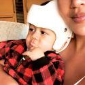 "Chrissy Teigen's Son Miles Gets A Helmet For His ""Slightly Misshapen Head"""