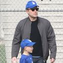 Ben Affleck And Jen Garner Come Together For Son Samuel's Baseball Game