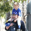 "<em><span class=""exclusive"">EXCLUSIVE PHOTOS & VIDEO</span></em> - Ben Affleck Coaches Son Sam's Baseball Team Then Reunites With Jen At Church"