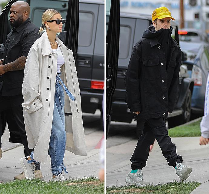 Justin Bieber And Hailey Baldwin Enjoy A Very Fashionable Tea Time - X17 Online