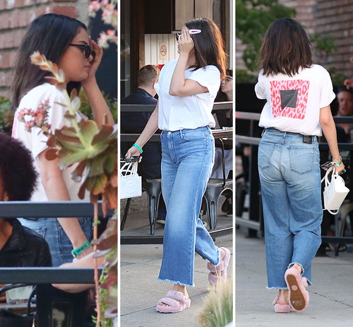 "<em><span class=""exclusive"">EXCLUSIVE PIX & VIDEO</span></em> - Selena Gomez Enjoys Taco Friday With A Friend - X17 Online"