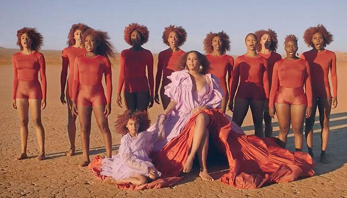 "Beyonce Drops Music Video For <em>Lion King</em> Single ""Spirit"" & Fans Go WILD Over Cameo By Blue Ivy - X17 Online"