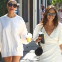 Cara Santana Finds A Love Note On Her Car After Shopping With Pal Olivia Culpo