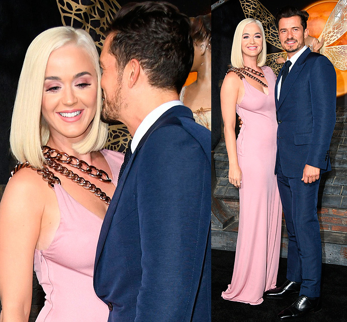 We Wanna Know What Orlando Bloom's Whispering In Fiancee Katy Perry's Ear! - X17 Online