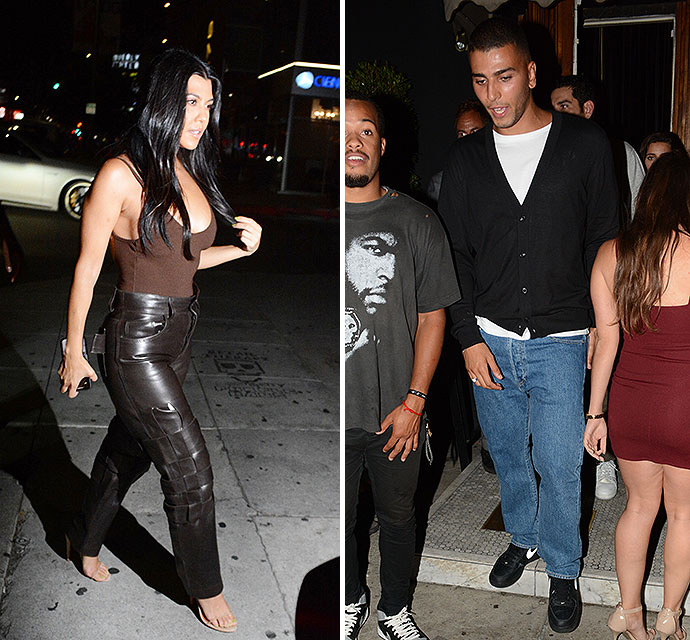 Kourtney And Kendall Party With Their Exes While Kylie Enjoys A Rare Night Out - X17 Online