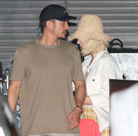 Katy Perry Practices Being A Step-Mom As She And Orlando Bloom Take His Son Flynn To Dinner - X17 Online