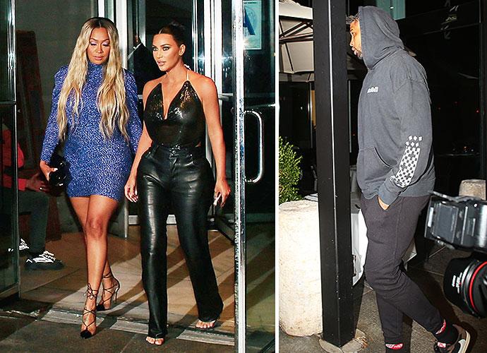 Kim Kardashian Does Dinner With Khloe's Ex Tristan Thompson!!! Why?! - X17 Online