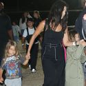 Kourtney Kardashian Takes Her Kids To The Malibu Chili Cook-Off While Amber Rose Brings Her Unborn Child!