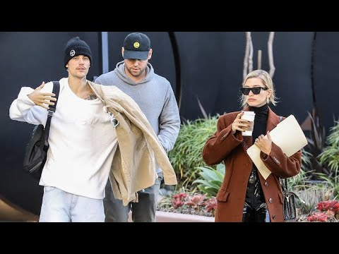 Justin Bieber And Hailey Baldwin Meet With Manager Scooter Braun To Gear Up For His Tour! - X17 Online