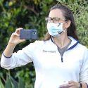 Ben Affleck Sports Cuban Fashion While Jennifer Garner Snaps Selfies With The Kids During Quarantine
