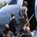 Justin Bieber & Hailey Baldwin Jet To Idaho After Dropping $25 Million On New Beverly Hills Mansion