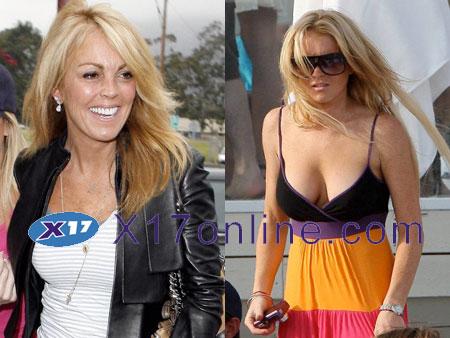 Lindsay Lohan LindsandDinaUgh.jpg