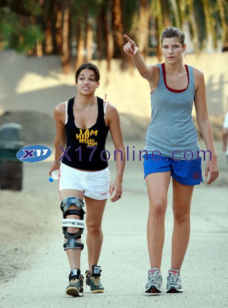 Michelle Rodriguez MRodriguezFriend090107_2.jpg