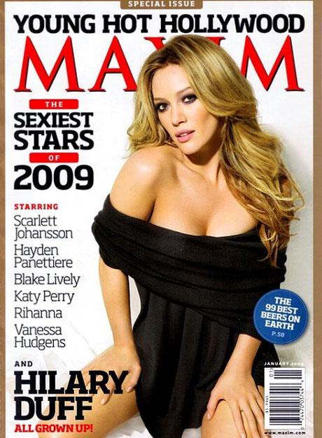 Hilary Duff hilmaximcover.jpg