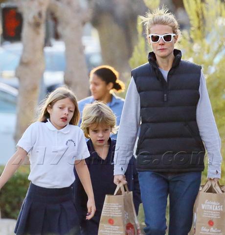 Gwyneth Paltrow Kids 2013