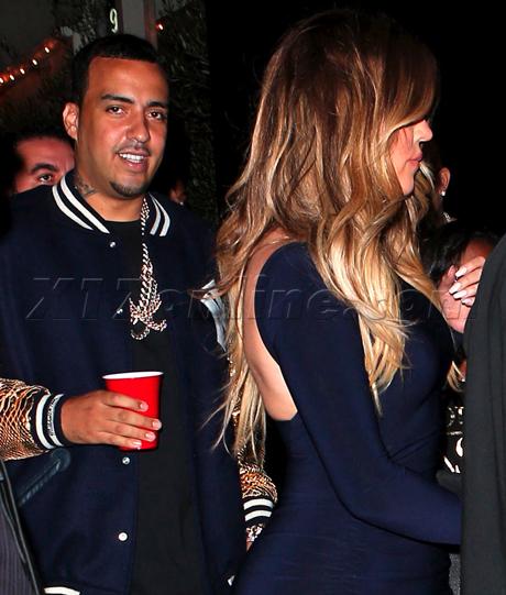 khloe kardashian clears french montana dating rumors