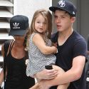 Victoria And David Beckham Take Their Kids To Spin Class
