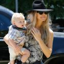 Fergie And Her Adorable Son Axl Spend Some Quality Time Together