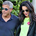 George Clooney And Amal Alamuddin Tie The Knot In Venice, Italy!