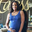 Kelly Rowland Shows Off Her Pregnant Belly At Her Baby Shower