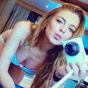 Lindsay Lohan Shares Sexy Selfies From Her Italian Vacay