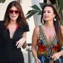 Kyle Richards And Lisa Vanderpump Bury The Hatchet To Film <em>RHOBH</em>