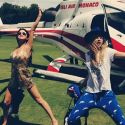 Selena Gomez Travels In Style With Bad Girl BFF Cara Delevingne