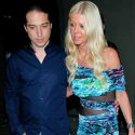 Tara Reid Needs A Little Help Walking After Dinner With Her Boyfriend