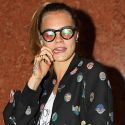 Cara Delevingne Is All Kinds Of Crazy With Her Goofy Glasses