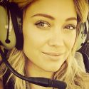 Hilary Duff Skips Traffic And Hops On A Helicopter To San Diego