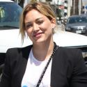Hilary Duff Looks Like A Serious Business Lady On The Go!